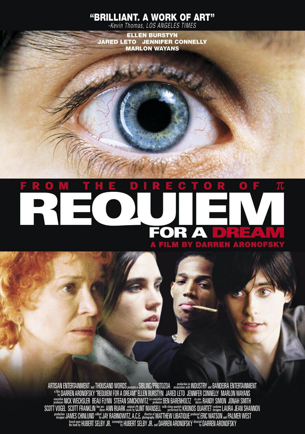 REQUIEM FOR A DREAM - American Poster